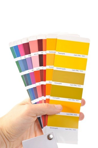 Color swatches : Stock Photo