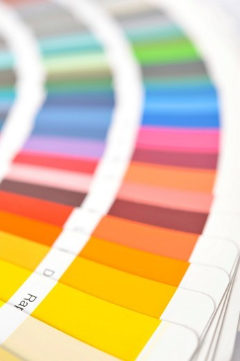 Stock Photo: 1848-459575 Color swatches