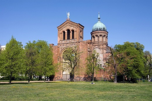 Michaelskirche, St. Michaels Church, Berlin, Germany, Europe : Stock Photo
