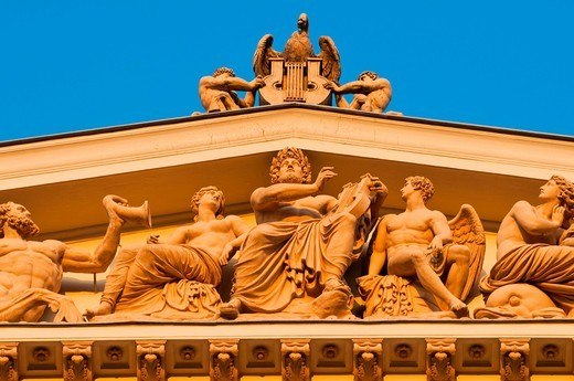 Stock Photo: 1848-460784 Musikverein Concert Hall, Vienna, Austria, Europe