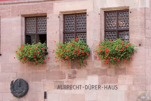 Stock Photo: 1848-461006 Albrecht_Dürer_Haus Nürnberg _ Nuernberg Germany