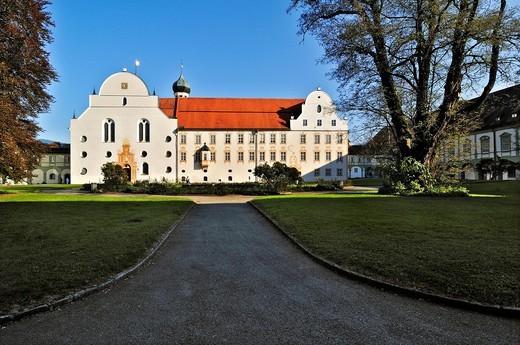 Stock Photo: 1848-461380 Kloster Benediktbeuern monastery, Bavaria, Germany, Europe