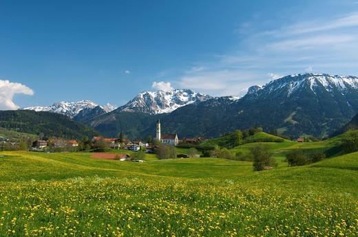 Stock Photo: 1848-462081 Pfronten, Allgaeu, Bavaria, Germany, Europe