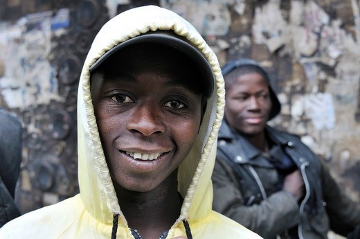 Stock Photo: 1848-462268 Portrait of a homeless youth, street children in Hillbrow, Johannesburg, South Africa, Africa