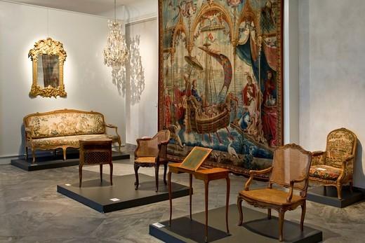 Stock Photo: 1848-463183 Inside the Danish Museum of Art & Design in Copenhagen, Denmark, Europe
