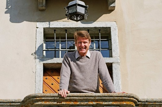 Professor Dr. Heinrich Haller, Director of the Swiss National Park, Engadin, Graubuenden, Switzerland, Europe : Stock Photo