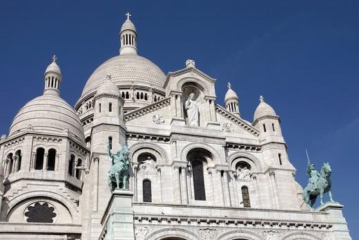 Stock Photo: 1848-465410 Sacre Coeur, Paris, France, Europe