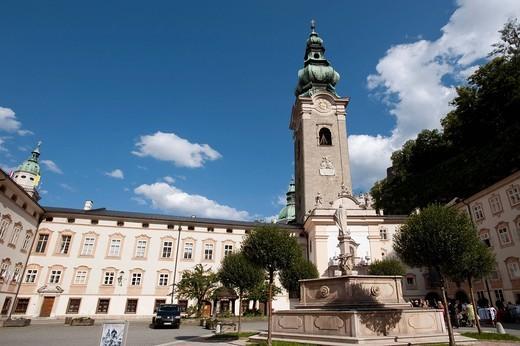 St. Peter´s Church, Salzburg, Austria, Europe : Stock Photo