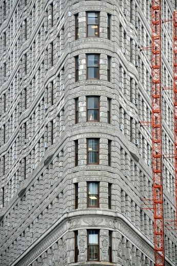 Flat Iron Building, Manhattan, New York, USA : Stock Photo