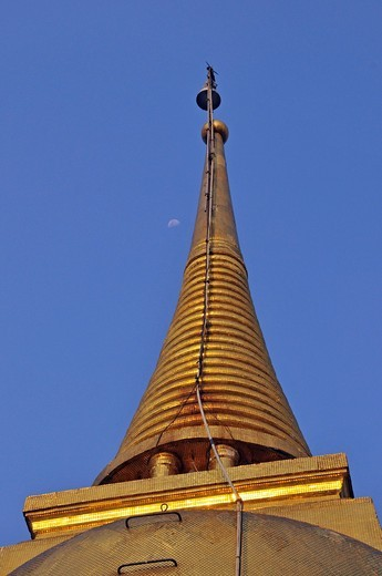 Stock Photo: 1848-467033 Golden stupa on Golden Mount, Bangkok, Thailand, Asia