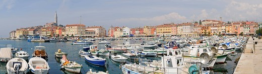 Port of Rovinj, Croatia, Europe : Stock Photo