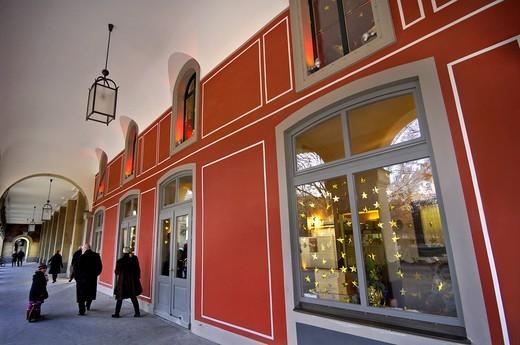 Stock Photo: 1848-469507 Hofgarten, Court Garden, western arcades, Munich, Bavaria, Germany, Europe