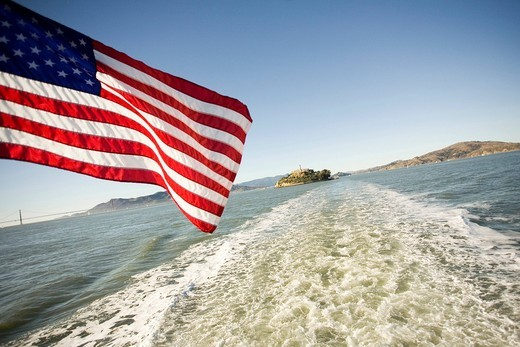 Stock Photo: 1848-469675 Alcatraz Island, The Rock, San Francisco Bay, California, United States of America