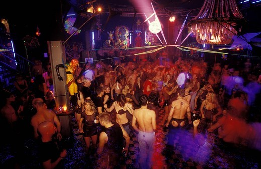 KitKatClub, techno party club and event venue in Berlin, Germany, Europe : Stock Photo