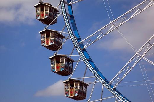 Stock Photo: 1848-474615 Detail, ferris wheel, Oktoberfest Munich, Theresienwiese, Munich, Bavaria, Germany, Europe