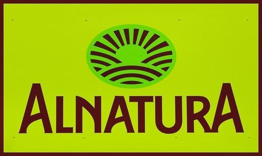 Stock Photo: 1848-475988 Alnatura logo, health_food store, food, natural textiles