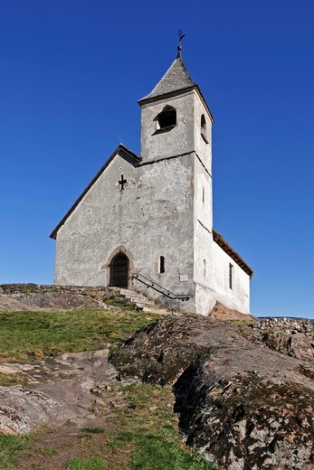 St Hippolyt church, Lana, South Tyrol, Italy : Stock Photo