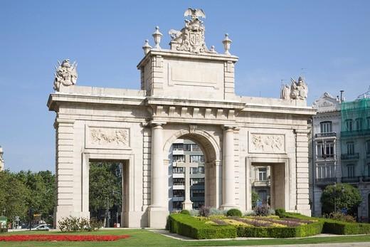 Stock Photo: 1848-477198 Porta de la Mar, Valencia, Comunidad Valenciana, Spain, Europe