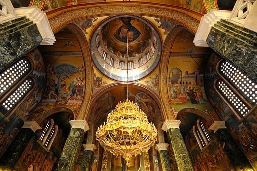 Stock Photo: 1848-477951 The Hagia Sophia church, UNESCO World Heritage Site, Thessaloniki, Chalkidiki, Macedonia, Greece, Europe