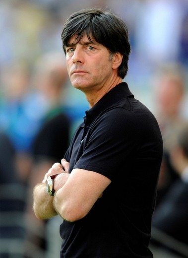 Jogi Loew, football match, Germany vs. Bosnia_Herzegovina, 3_1, Commerzbank Arena, Frankfurt, Hesse, Germany, Europe : Stock Photo