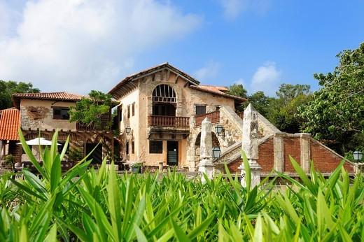 Stock Photo: 1848-486989 Artist village of Altos de Chavon, Dominican Republic, the Caribbean