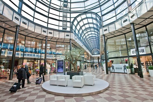 Stock Photo: 1848-487267 Galerie Luise mall, Hannover, Lower Saxony, Germany, Europe