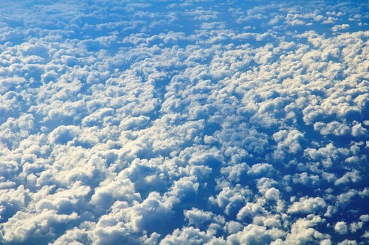 Clouds seen from above : Stock Photo