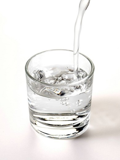 Glass of water : Stock Photo