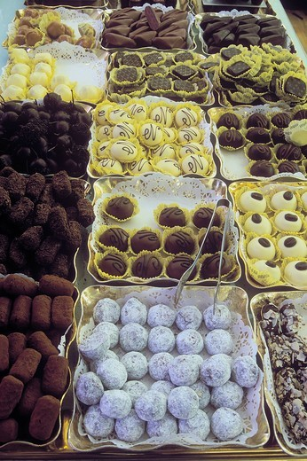 Stock Photo: 1848-491050 Belgian chocolates, Brussels, Belgium, Europe
