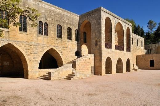 Beit ed_Dine, Beiteddine Palace of Emir Bashir, Chouf, Lebanon, Middle East, West Asia : Stock Photo