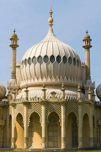 Royal Pavilion, Brighton, East Sussex, England, United Kingdom, Europe : Stock Photo
