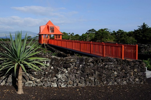 Viticultural Museum, Madalena, Pico Island, Azores, Portugal : Stock Photo