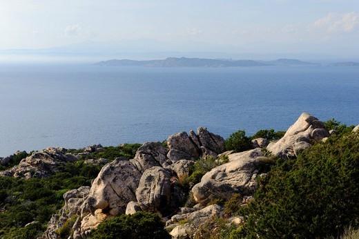 Stock Photo: 1848-497491 West coast of La Maddalena, La Maddalena Archipelago, Archipelago della Maddalena, Olbia_Tempio Province, Northern Sardinia, Italy, Europe