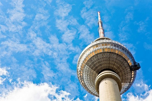 Television tower on the Alexander´s place, Berlin, Germany : Stock Photo