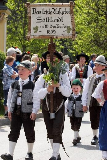 Stock Photo: 1848-498390 Gauder festival in Zell am Ziller _ Zillertal Tyrol Austria