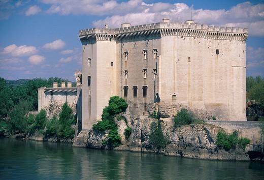 Stock Photo: 1848-49843 Castle in Tarascon, Provence, France