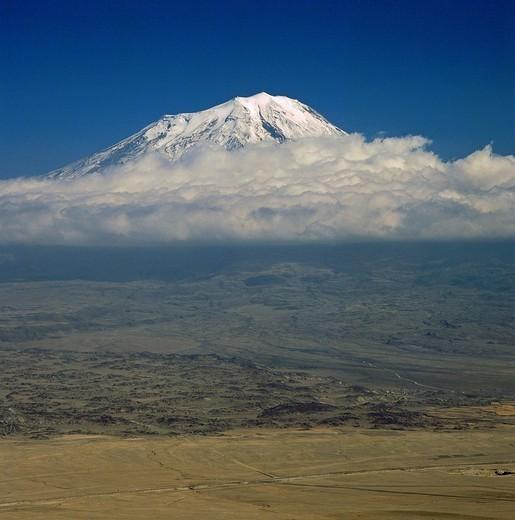 Stock Photo: 1848-498799 Mount Ararat, 5165 m, Anatolia, Turkey,