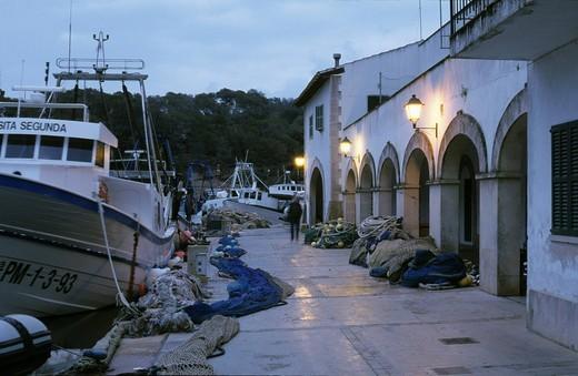 Stock Photo: 1848-499288 Mallorca Cala Figuera _ harbour