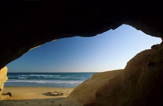 Stock Photo: 1848-499763 Spain Andalusia Costa de la Luz Cádiz _ Conil de la Frontera _ Playa de Fontanilla