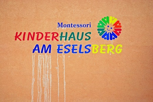 Montessori Children´s House, Eselsberg, Ulm, Baden_Wuerttemberg, Germany, Europe : Stock Photo