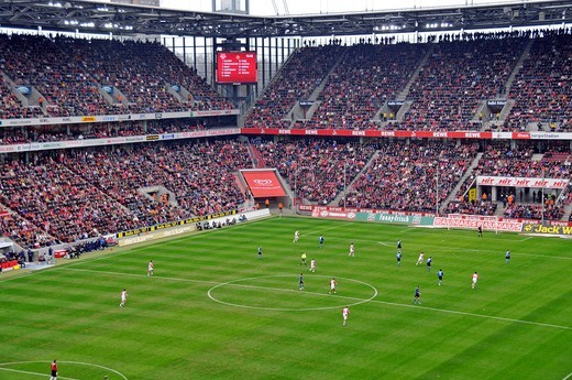 Stock Photo: 1848-501674 Rheinenergie_Stadion football stadium in Cologne, North Rhine_Westphalia, Germany