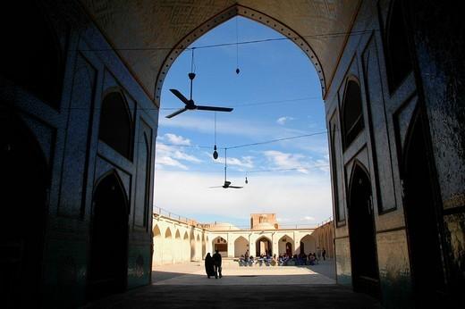 Stock Photo: 1848-52434 Jama Masjid Mosque, Yazd, Iran, Middle East