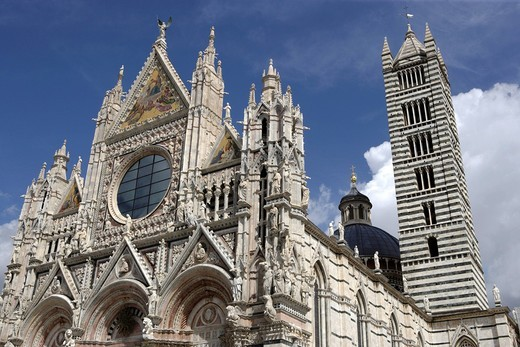Cathedral of Santa Maria Assunta, Siena, Tuscany, Italy Europe : Stock Photo