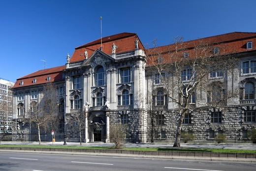 Higher Administrative Court of Berlin_Brandenburg, former Federal Administrative Court, Charlottenburg, Berlin, Germany, Europe : Stock Photo