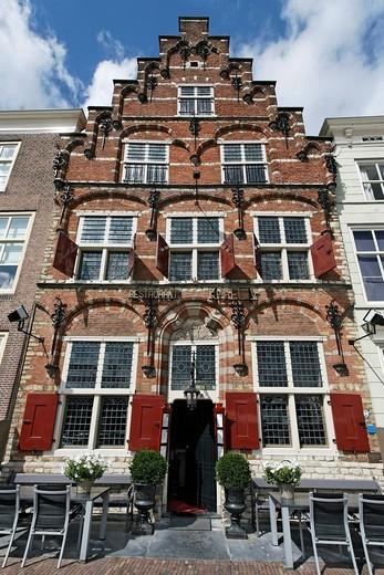 Gothic building, Karl V., Goes, Zeeland province, Netherlands, Benelux, Europe : Stock Photo