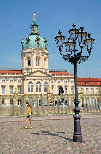 Stock Photo: 1848-530964 Schloss Charlottenburg Palace, Berlin, Germany, Europe