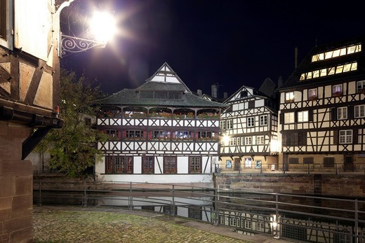 Stock Photo: 1848-531799 Old town Quarter Petit France, Strasbourg, Alsace, France, Europe