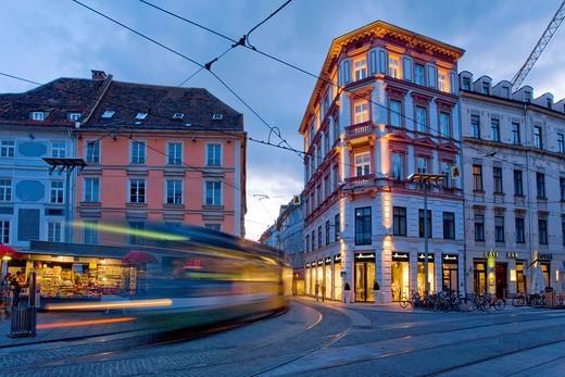 Stock Photo: 1848-532519 City centre, Graz, Styria, Austria, Europe