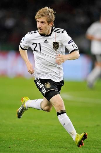 Marko Marin, European Football Championship Qualification, Germany – Azerbaijan 6:1 in RheinEnergieStadion stadium, Cologne, Germany, Europe : Stock Photo