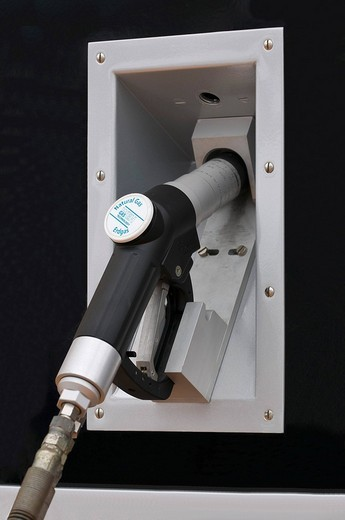 Gas tank pump, WEH refueling system for gas_powered cars : Stock Photo